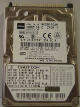 "Toshiba MK2017GAP HDD2158 20GB 2.5"" IDE HDD Tested Free US Ship Our Drives Work"