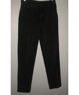 VTG RIDERS 5 Pocket Straight Leg Heavy Denim Black Jeans sz 10 - $15.00