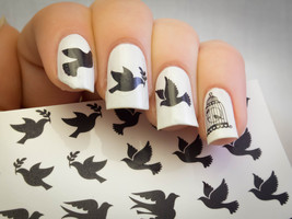 Dove c2 Nail  Art Water Decals  - $9.00