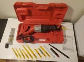 Milwaukee 6519-30 Reciprocating Saw Kit Hard Carrying Case DeWALT Blades... - $67.43