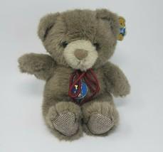 VINTAGE 1985 DAKIN BROWN TINY BUBBLES TEDDY BEAR STUFFED ANIMAL PLUSH TO... - $55.17