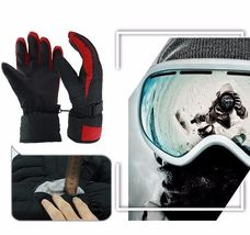Winter Warm Ski Glove -30 Degree Windproof Waterproof Unisex Security Protection image 5