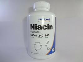 Nutricost Niacin Vitamin B3 500mg Capsules - 240 Count - $15.74