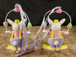 3 Avon Easter Bunny Clown Perfect Juggler Parading Parasol Plastic Figures  image 5