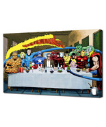Marvel: Stan Lee's Super Supper - Mounted Canvas (various sizes) - $29.99+
