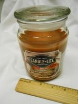 New Candle-Lite Candle Cinnamon Pecan Swirl big 18 oz.  Compare to Yankee - $19.60