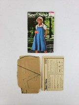 Vtg Butterick See & Sew Pattern 5759 Womens Misses Size 14 Jumper Cut Co... - $12.99
