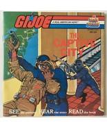 G.I. Joe - The Captive City 7' Vinyl Record / Book, Kid Stuff DBR 208, 1984 - $16.95