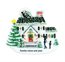 Personalized Christmas Ornament, Christmas vacation house, Griswold hous... - $11.88