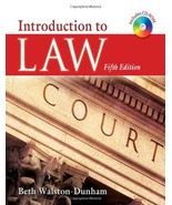 Introduction to Law Walston-Dunham, Beth - $18.80