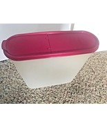 Tupperware Modular Mate  #2239-A Keeper Hot Pink Seal  Pour Lid 5 Liters... - $18.80