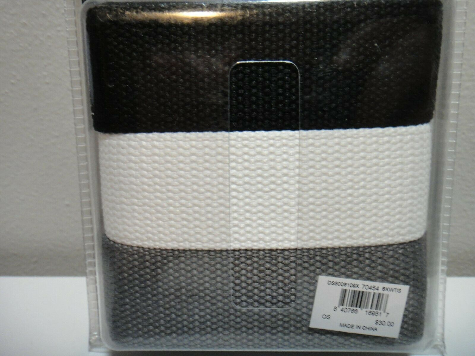 """NIKE BELT 3 IN 1 WEB PACK COLOR BLACK RED /& WHITE ONE SIZE FITS ALL UP TO 42/"""""""
