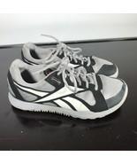 Reebok Size 7, CrossFit Nano U‑Form Women Gray/Black/Whit Training Shoes - $24.75