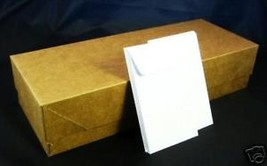 COIN ENVELOPE - New Box of 450 #3 White Acid Free 4 1/2 x 2 1/2 (4.25 x ... - $14.20