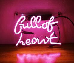 "New Full Of Heart Wall Decor Acrylic Back Neon Light Sign 14"" Fast Ship image 3"