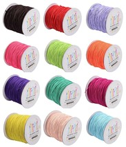 100 m (109 yards spool Stretchy ELASTIC 1mm Round Cord String for Beads ... - $10.44+
