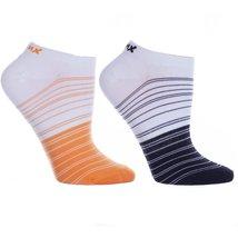 Womens 2 Pair Cool Blue Micro Denier Graduated Anklets Socks - ₨649.44 INR+
