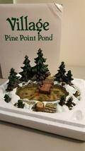 Dept 56 General Village Accessory 1995 PINE POINT POND 52618 Retired 1999 - $19.95