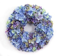 Melrose International Shades of Blue and Purple Hydrangea Wreath, 20-Inch - €97,97 EUR