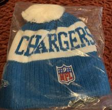 Los Angeles LA chargers Hat Football NFL New Era Beanie - $15.40
