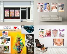 Acrylic IV Photo-Realistic Paper Poster Matte Nail Salon Non-Laminated Vertical image 2