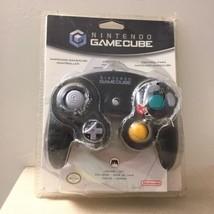Official Nintendo Gamecube Jet Black Controller GENUINE NEW SEALED NIB OEM - $130.60