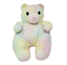 Ty 1999 Bearbaby Ours Bébé Multi Couleur Ourson Coussin Hochet Animal en Peluche - $45.69