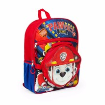 """16"""" Paw Patrol Backpack + Lunch Bag Set Marshall Rocky Rubble Zuma NEW - €14,65 EUR"""
