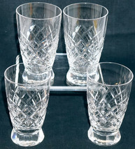 American Brilliant Cut Glass Juice Tumbler Marked with a T Set of 4 Tuth... - $49.99