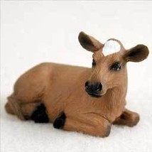 Conversation Concepts Guernsey Cow Tiny One Figurine - $9.99