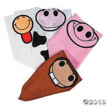 Farm Animal Bandanas - 12 pcs  - $12.11