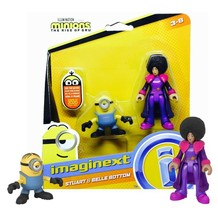 imaginext Minions The Rise of Gru: Stuart & Belle Bottom New in Box - $5.88