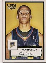 2005-06 Topps Style Warriors Basketball Card #146 Monta Ellis Rookie - $2.00