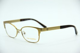 New Tory Burch Ty 1046 3124 Gold Eyeglasses Authentic Frame Rx TY1046 50-16 - $40.13