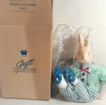 NEW AVON GIFT COLLECTIONS SPRING BUNNIES DAD 2002 EASTER IN BOX FREE SHI... - $14.95