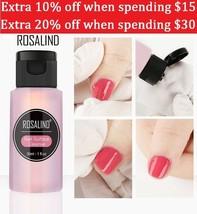 Nail Gel Water Protect Gel Nail Polish More Shiny Long-Lasting Rosalind ... - $3.32