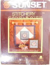 "NIP Sunset Stitchery ""It Takes A Lot Of Loving""  Kit #743 - $3.77"