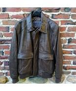 Refurbished Andrew Marc Leather Bomber Jacket Size XL - $198.00