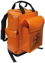 Klein Tools Tool Storage Backpack 18 in. Adjustable Straps Water Resistant Vinyl - $130.07