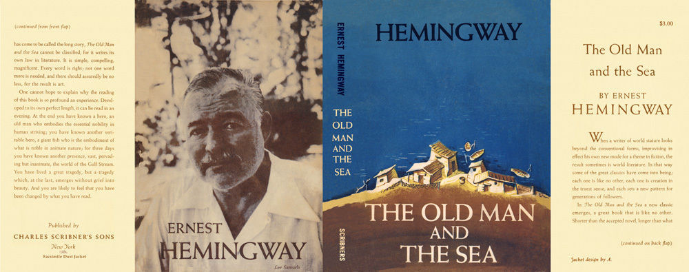 Ernest Hemingway THE OLD MAN AND THE SEA for 1st edition book