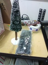 Dept 56 Tall Pine Tree and 2 Lemax Long Hedgerows - $6.43