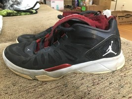 Nike Air Jordan Dominate Pro [580610-005] Black Red White Bred Men's 9.5 AA18 - $29.02