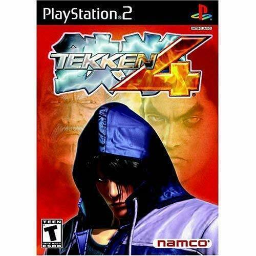Tekken 4 For PlayStation 2 PS2 Video Game [Used  Good]