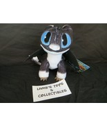 "How To Train Your Dragon 3 Blue Eyes White Black 8"" Nightlight Plush Stu... - $66.49"