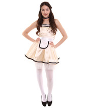 Adult Women's French Maid Uniform Costume    Copper Cosplay Costume - $23.85