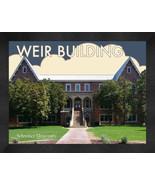 "Schreiner University ""Weir Building"" 13 x 16 Art Deco Framed Print  - $39.95"
