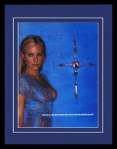 Brittany Daniel 2001 Framed 11x14 Lingerie Photo Display - $32.36
