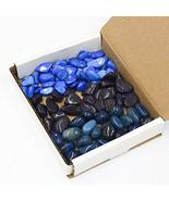 Tumbled Stone Collection 1lb Blue Howlite Purple Dalmatian Jasper Teal A... - $39.15