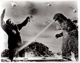 Godzilla vs King Kong Vintage 18x24 BW Movie Memorabilia Photo - $35.95