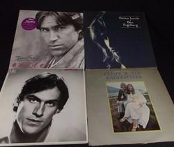4 VINTAGE rock folk LP record album lot Fogelberg James Taylor Carpenter... - £11.49 GBP